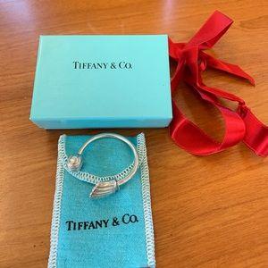 NEW Tiffany & Co. Baseball Glove & Ball Keyring